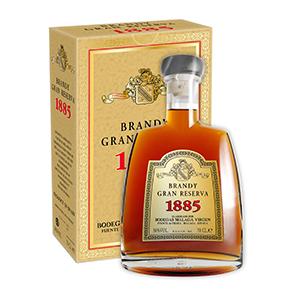 Brandy Gran Reserva 1885 estuche